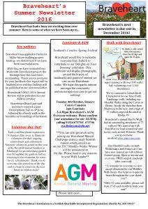 Newletter August 2016